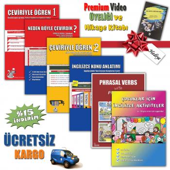 Videolu İngilizce Eğitim Seti